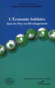 L'économie solidaire dans les pays en développement - Couverture - Format classique