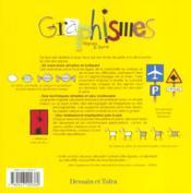 Graphisme ; signes et sens - 4ème de couverture - Format classique