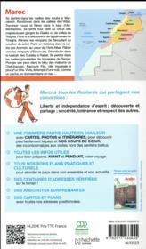 Guide du Routard ; Maroc (édition 2018) - 4ème de couverture - Format classique