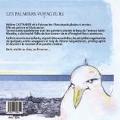Palmetto ; les palmiers voyageurs - 4ème de couverture - Format classique