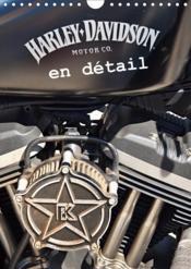Harley davidson en detail (calendrier mural 2019 din a4 vertical) - les plus belles photos de detail - Couverture - Format classique