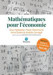 Mathématiques pour l'économie (5e édition) - Couverture - Format classique