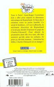 Les Razmoket A Paris - 4ème de couverture - Format classique