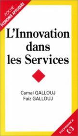 Innovation dans services poche - Couverture - Format classique