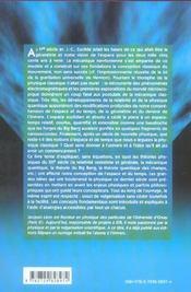 A La Recherche De L'Espace Et Du Temps Perdus - 4ème de couverture - Format classique