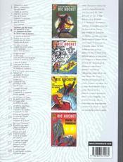 Ric Hochet ; INTEGRALE VOL.4 - 4ème de couverture - Format classique