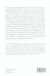 Tribulations D Un Homme Mouille - 4ème de couverture - Format classique
