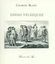 Diego velazquez - Couverture - Format classique