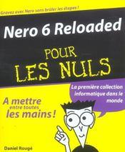 Nero 6 Reloaded Pour Les Nuls - Intérieur - Format classique