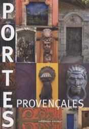 Portes provençales - Couverture - Format classique