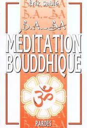 Méditation bouddhique - Intérieur - Format classique