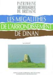Les Megalithes De L'Arrondissement De Dinan - Couverture - Format classique
