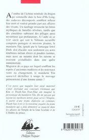 Poudre noire de maitre hou (la) - 4ème de couverture - Format classique