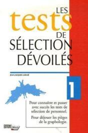 Tests selection devoiles - Couverture - Format classique