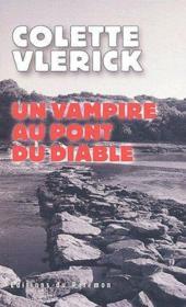 Un vampire au pont du diable - Couverture - Format classique