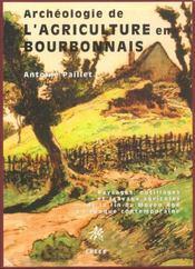 Archeologie De L'Agriculture En Bourbonnais - Intérieur - Format classique