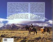 Patagonie ; Visions D'Un Caballero - 4ème de couverture - Format classique