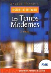 Histoire de revenants t.2 ; les temps modernes - Couverture - Format classique