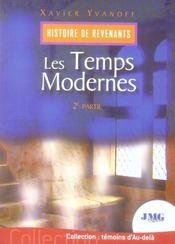 Histoire de revenants t.2 ; les temps modernes - Intérieur - Format classique