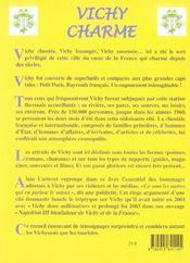 Vichy Charme - 4ème de couverture - Format classique