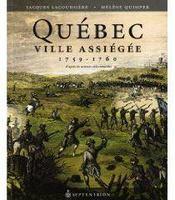 Québec, ville assiégée ; 1759-1760 - Couverture - Format classique