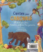 Contes pour garçons - 4ème de couverture - Format classique