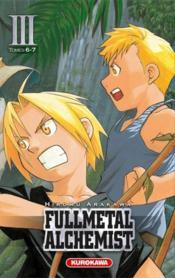 Fullmetal alchemist III ; t.6 et t.7 - Couverture - Format classique