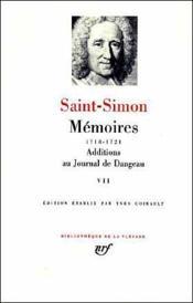Mémoires t.7 - Couverture - Format classique
