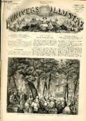 L'UNIVERS ILLUSTRE - HUITIEME ANNEE N° 469 Prêche de Septembre dans le cimetière de l'église du Sant-Corps, à Dantzick, Prusse. - Couverture - Format classique