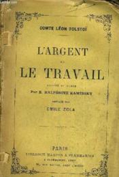 L'Argent Et Le Travail. - Couverture - Format classique