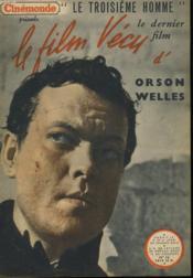 Le Film Vecu - Le Troisieme Homme - N°16 - Couverture - Format classique