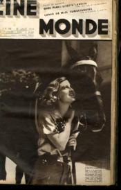 CINEMONDE - 7e ANNEE - N° 299 - GROS PLAN: LISETTE LANVIN - LUNES DE MIEL TUMULTUEUSES - SI FRANCE VOULAIT... - Couverture - Format classique