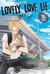 Lovely love lie T.20 - Couverture - Format classique