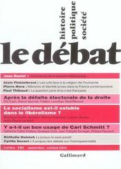 Revue Le Débat N.131 ; septembre-octobre 2004 - Intérieur - Format classique