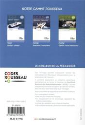 Code Rousseau ; option