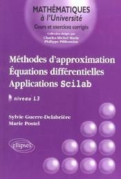 Methodes D'Approximation Equations Differentielles Applications Scilab Niveau L3 - Intérieur - Format classique