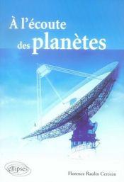 À l'écoute des planètes - Intérieur - Format classique