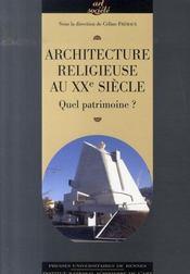 Architecture religieuse du XXe siècle en France : quel patrimoine ? - Intérieur - Format classique