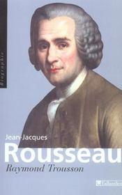 Jean-jacques rousseau [biographie] - Intérieur - Format classique