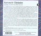 Parcourir L'Histoire Vol 8 (Cd) - 4ème de couverture - Format classique