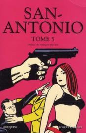 San Antonio t.5 - Couverture - Format classique