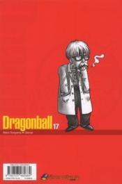 Dragon ball t.17 - 4ème de couverture - Format classique