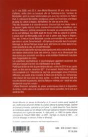 Autopsie de l'affaire Bissonnet - 4ème de couverture - Format classique