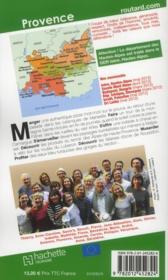 Guide Du Routard ; Provence (Edition 2012) - 4ème de couverture - Format classique