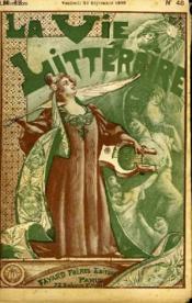 Les Chemises. La Vie Litteraire. - Couverture - Format classique