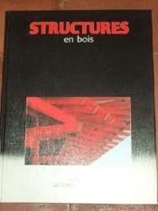 Structures en bois. - Couverture - Format classique