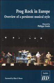 Prog rock in europe - Couverture - Format classique