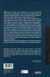 Prog rock in europe - 4ème de couverture - Format classique