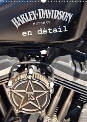 Harley davidson en detail (calendrier mural 2019 din a3 vertical) - les plus belles photos de detail - Couverture - Format classique