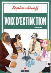 Voix d'extinction - Couverture - Format classique